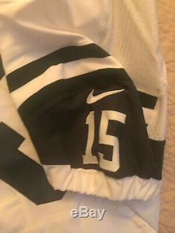 Tim Tebow Game Issued Used Worn Jersey New York Jets Florida Gators