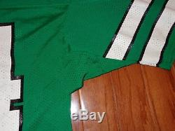USED 1990s NEW YORK JETS VINTAGE RUSSELL GAME FOOTBALL JERSEY JOHNNY HECTOR WORN