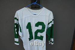 Vintage Rawlings Dureen Green & White Football Jersey 40 New York Jets COOL